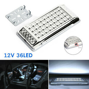 1PCS 12V 36LED Car Interior Indoor Roof Ceiling Interior Lamp Dome Reading Light