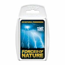 Top TRUMPS Forces of Nature Card Game From Mr Toys