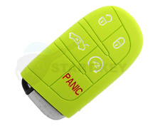 Chrysler dodge jeep clave Silicona Funda 200 300 Cherokee chiave cle key verde