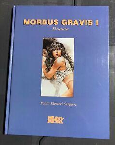 1993 DRUUNA Morbus Gravis 1 Paolo Serpieri HC FVF 7.0 / Fisherman Collection