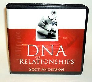 DNA OF RELATIONSHIPS By Sct Anderson  6 CD Set NEW with Bonus Disc