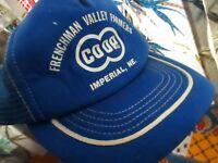 NEW NOS Vtg 80s Mesh Back Hat Cap Snap Back CO-OP COOP AGRO NEBRASKA FARMER Logo