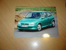 PHOTO DE PRESSE ( PRESS PHOTO ) Opel Corsa Eco 3 de 1995 OP035