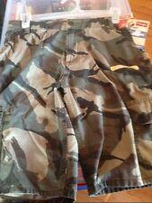 Boys Wrangler Cargo Shorts 12 REGULAR Olive Camo Adjust to Fit NWT