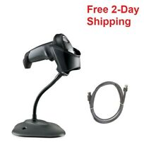 Zebra Symbol Li2208 Barcode Scanner 1d With Usb Cable Amp Stand Replaces Ls2208