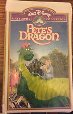 Walt Disney Masterpiece Collection Pete's Dragon VHS NIP