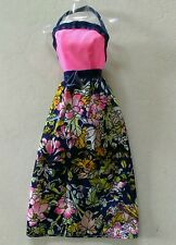 VINTAGE SUPERSTAR ERA BARBIE FASHION DOLL 70'S BEST BUY OUTFIT GOWN DRESS ~