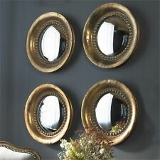 Uttermost 12847 Tropea Rounds Wood Mirror Set Of 2
