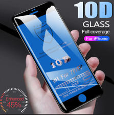 IPHONE 7 & 8 10D FULL COVER 3D TEMPERED GLASS SCREEN PROTECTOR