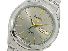 SEIKO 5 SNKL19 SNKL19K1 21 Jewels Automatic Grey Ready to Ship !