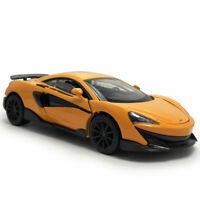 McLaren 600LT 1/32 Die Cast Modellauto Spielzeug Kind Sammlung Pull Back Orange