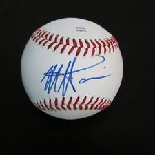Monte Harrison Signed Ball Auto, Miami Marlins Prospect Autograph Baseball