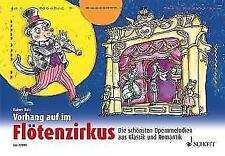 Vorhang auf im Flötenzirkus, 1-2 Sopran-Bfl. mit CD R. Butz - NEUWERTIG !