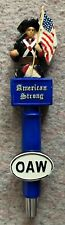 Oceanside Ale Works Oaw American Strong Figural Beer Tap Handle Rare San Diego