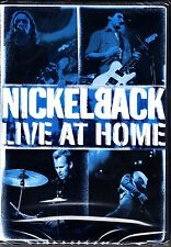 NICKELBACK - LIVE AT HOME - CONCERT/ DOCUMENTARY/VIDEOS DVD ALL REGIONS