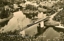 SOUTHPORT( Lancashire) : Suspension Bridge and Lake,Land of the Little People RP