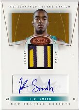 2004-05 Hot Prospects J.R. SMITH Auto Patch RC Rookie Card #d 350