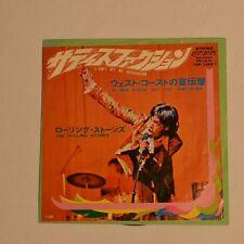 "ROLLING STONES - Satisfaction - 1969 7"" SINGLE JAPAN"