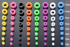 1pc 3mm - 26mm Silicone Tunnel Rubber Stretcher Earring Ear plug Expander Gauges