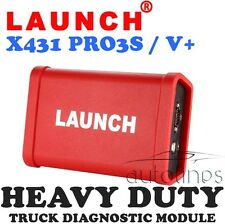 LAUNCH X431 HD Heavy Duty Truck Diagnostic Module Scan For X-431 V+ Pro3 PRO3S