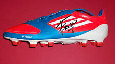 FERNANDO REGES MANCHESTER CITY AUTOGRAPH PERSONALLY SIGNED FOOTBALL BOOT SOCCER