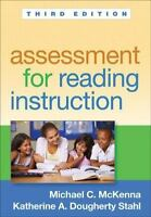 Assessment for Reading Instruction 3rd Edition by Michael C. McKenna (English) P