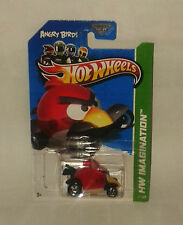 HotWheels Diecast 2012 - ANGRY BIRDS RED BIRD - NEW - Sealed