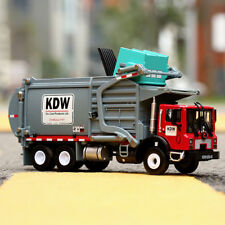 1:24 Scale Diecast Material Transporter Garbage Trucks  Model Toys For KDW