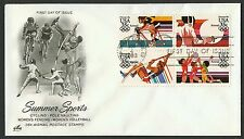 #C112a 35c 1984 Summer Olympics, Art Craft FDC **ANY 4=FREE SHIPPING**