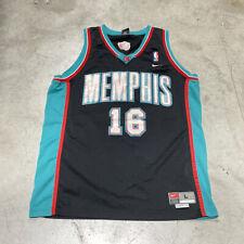 Vintage Memphis Grizzlies Nike NBA Pau Gasol Jersey Size L