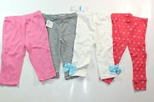 New ListingMixed Lots 4p Carter's Girls Calvin Klein Leggings Tights Long Pants 6-9 months