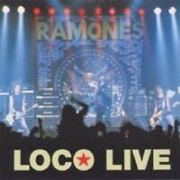 RAMONES - LOCO LIVE  CD 33 TRACKS PUNK ROCK NEUF