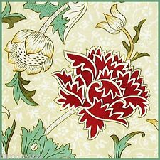 William Morris 12 x 12 inch on Zweigart Needlepoint Canvas ready to finish