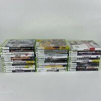 xbox 360 video game huge lot (UNTESTED AS IS)