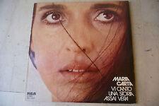 "MARIA CARTA""VI CANTO UNA STORIA ASSAI VERA-disco 33 giri RCA 1976"""