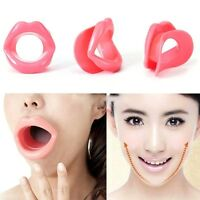 Silicone Rubber Mouth Muscle Tightener Face Slimmer Anti-Aging Anti-Wrink Tool N