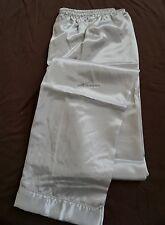 Ship Men Satin Silk Pajama Sleep Pants M L XL 2xl Multi-color Silkpeace 3 Navy Blue Pants 3xl