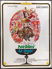 "THE PARTY 1969 Peter Sellers Blake Edwards French 47""x63"" poster"