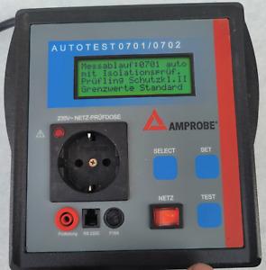 Beha Amprobe Gerätetester VDE 0701/0702 DGUV