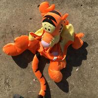 "WINNIE THE POOH ""Tigger"" Large Plush Orange Baby Seat Hugger Novelty Toy Cover"