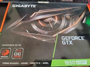 GIGABYTE GeForce GTX 1650 Super 4GB GDDR6 Windforce OC Edition GV-N165SWF2OC-4GD
