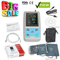 24h NIBP Holter Ambulatory Blood Pressure Monitor ABPM50,Software,CE FDA,USA NEW