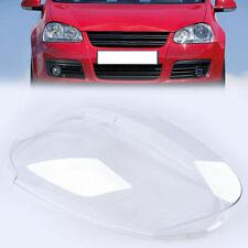 Clear Front Left Headlight Lenses Cover For VW Golf 5 MK5 Jetta 05 06 07 08 09