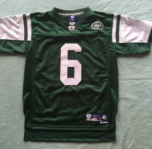NWOT New York Jets NFL Football Jersey Youth Large +2 Reebok Onfield Sanchez