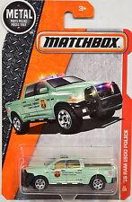 MATCHBOX 2016 METAL PARTS PIEZAS '15 RAM 1500 POLICE