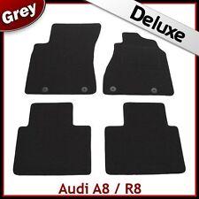 AUDI A8 Mk1 D2 1994-2002 1300 G di lusso su misura tappetini auto moquette grigio
