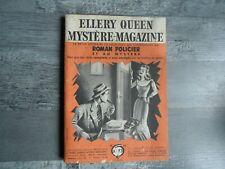 Ellery Queen Mystère Magazine 73 - VICKERS / GARDNER /  MILLER / WODEHOUSE 1954