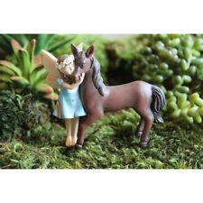 Miniature Fairy Garden CHELLE & CHAMP Figurine (NEW)