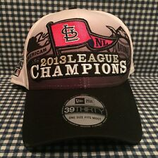 St. Louis Cardinals 2013 NL Champions New Era 39THIRTY Fitted Hat One Size MLB