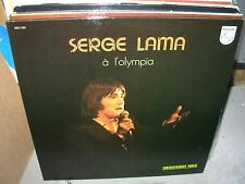 SERGE LAMA a l'olympia ( world music ) - 2lp - philips - france - TOP COPY -